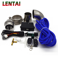1Set Car Exhaust Control Valve Set With Vacuum Actuator CUTOUT Automobiles exhaust pipe modification For Kia Mazda Opel Ford BMW
