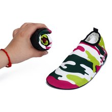 Deportes acuáticos yoga ejercicio slip on de surf beach swim piscina descalzo zapatos de agua aqua piel calcetines
