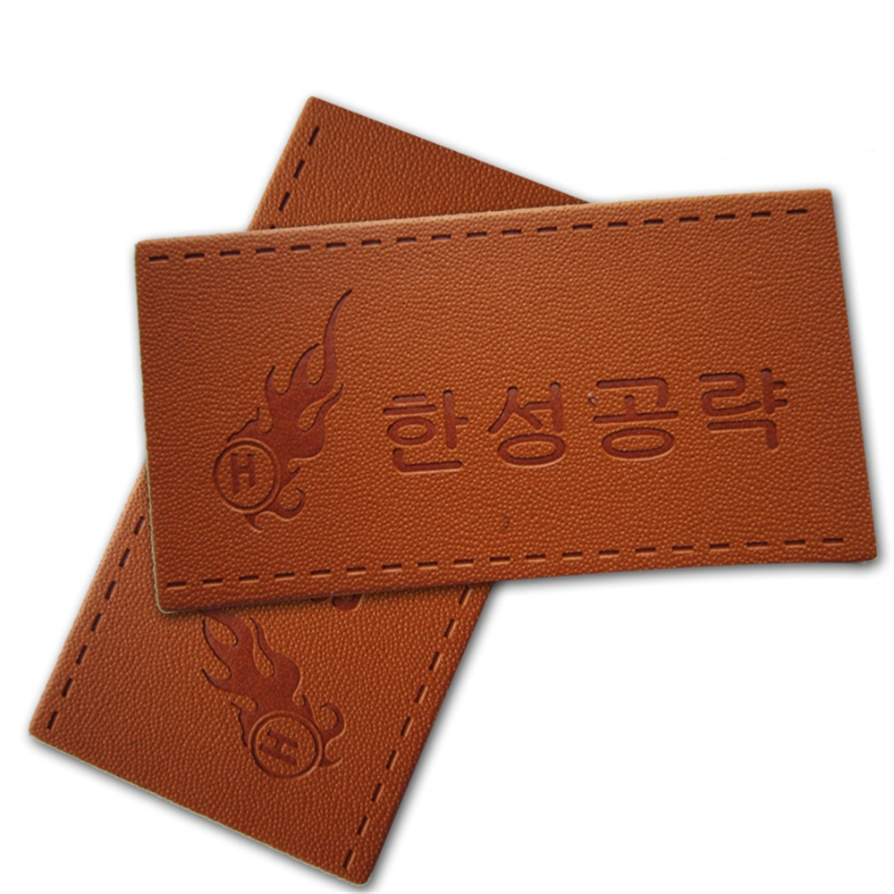 Free shipping wholesale 12 styles leather label handmade Patchwork diy Sewing label cloth Garment 100pcs Lot