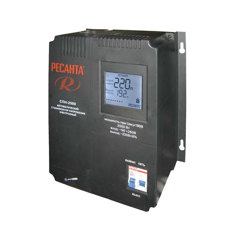 Voltage stabilizer RESANTA SPN-2500 cxa 0247 pcu p052d tdk lcd inverter high voltage switchboard