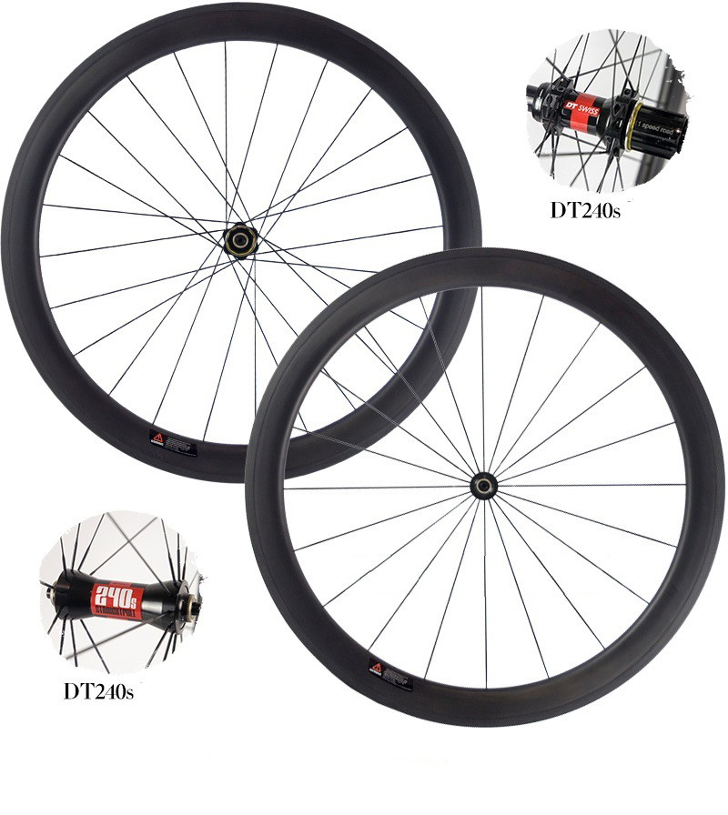 38mm Carbon Wheels with 240,Hub, pillar 1420,Sapim CX-Ray Spokes Light Weight Carbon Road Bicycle Wheelset 700C 20.5m Width farsports fsc38 tm 23 carbon cycling wheels 23mm 38mm tubular rims dt 240s hubs with sapim cx ray spokes total 1189g per set