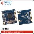 5 unids/lote Remoto de la Nueva Llegada 2.4G Módulo de Transceptor RF FSK RF2401 (sin incluir la Antena)