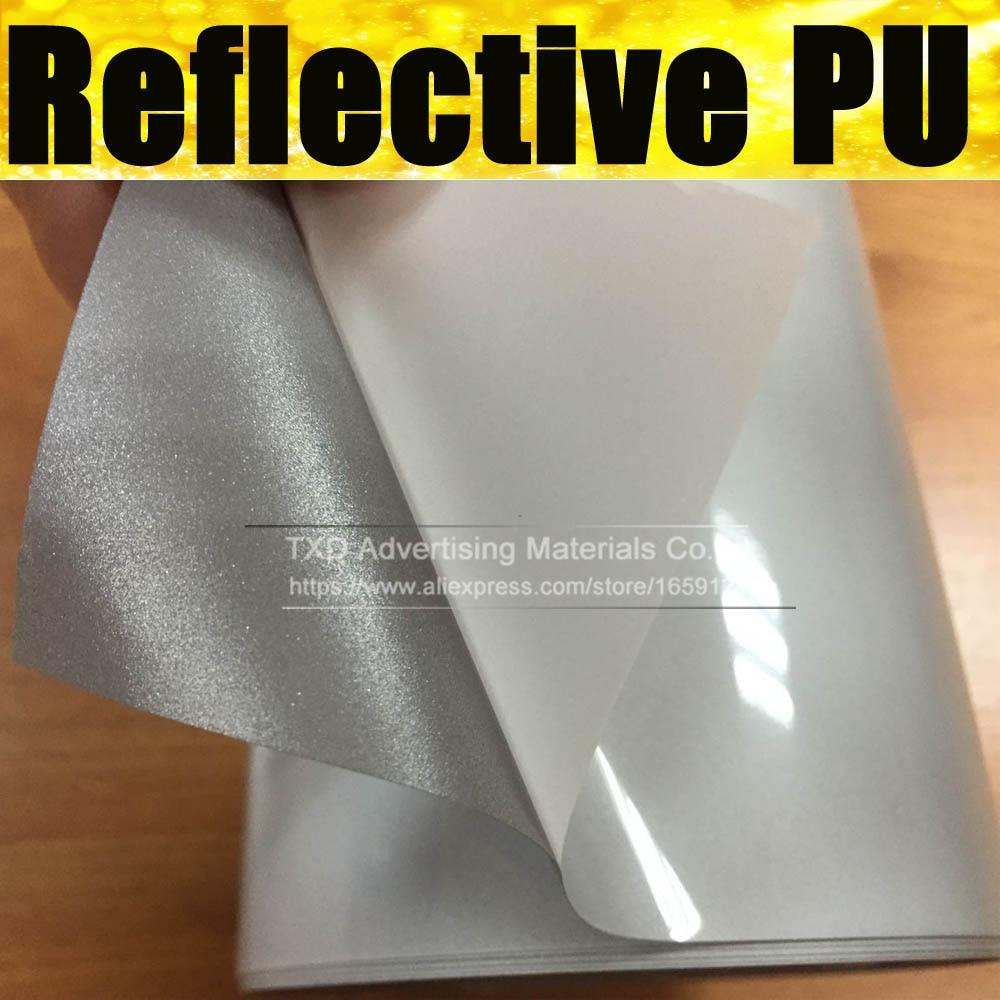 Good quality pu reflect light t shirt printing transfer for T shirt printing transfers