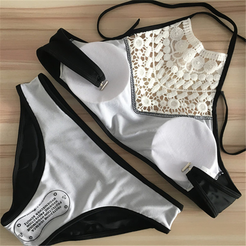 Push Up Swimwear Female 2017 Summer Women Sexy Bikini Set lace Swimsuit Beachwear Bathing Suit Brazilian Biquini 3