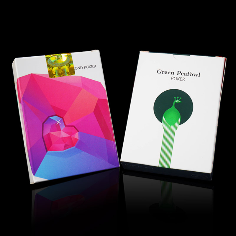 Flower - Cut Poker Magic Props Playing Cards Pure Hand Cards