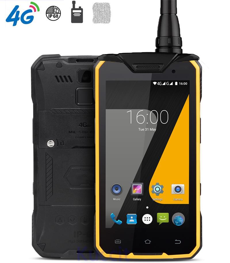 Chine J7 robuste Android étanche téléphone MTK6753 Octa Core 3 GB RAM chargeur sans fil talkie-walkie DMR numérique 2 W UHF Radio S8
