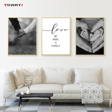 Hand In Romantic Wall Art Realistic Painting Love Quotes Vintage Posters Nordic Prints Black&White Mural Bedroom Home Decor