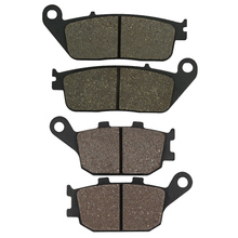 Cyleto for HONDA CB500F CB500X CB 500 500X 500F 2013 2014 CBR500R CBR 500R 2013-2014 Motorcycle Front and Rear Brake Pads motorcycle front brake pads kit for hon da cb500f cb500fa cb500x cb500xa cbr500r cbr500ra 2013 2014 fsc600 d silverwing 02 10