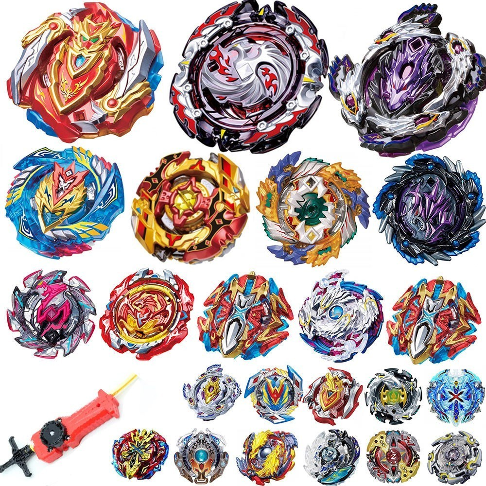 Top Launchers Beyblade Burst Toys B-128 B-129 B-131 Bables Toupie Bayblade Burst Metal God Spinning Tops Bey Blade Blades Toy