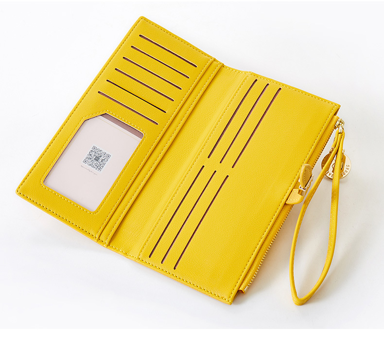 Women Long Wallet Many Departments Female Wallets Clutch Lady Purse Zipper Phone Pocket Card Holder Ladies Carteras 41