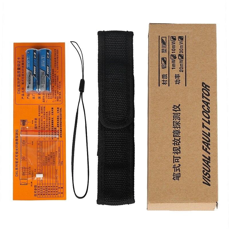 AUA-30 30 мВт Визуальный дефектоскоп красный светильник тестер волоконно-оптического кабеля FC/ST/SC патч-корд тест инструмент 30 км