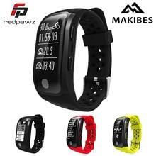 Makibes G03 IP68 Спорт трекер с GPS сердечного ритма Мониторы трекер Фитнес браслет для IOS/Android