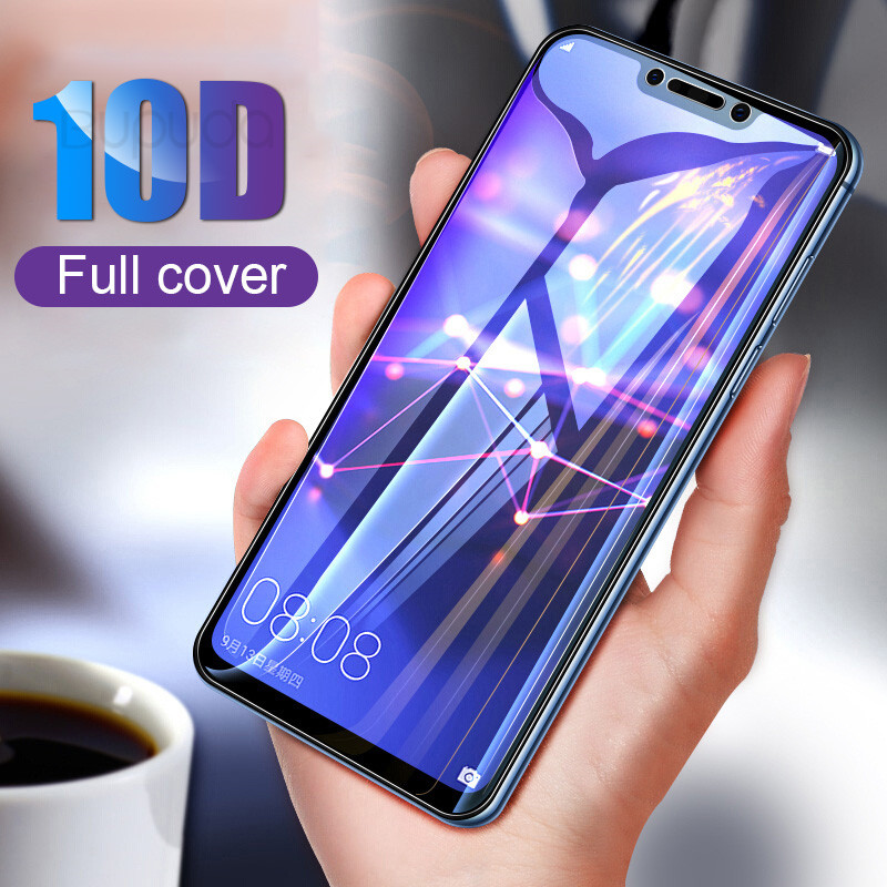 10D Full Cover Tempered Glass For Huawei P20 Lite Pro P10 Protective Glass film For Honor 9 Lite 10 Play Screen Protector