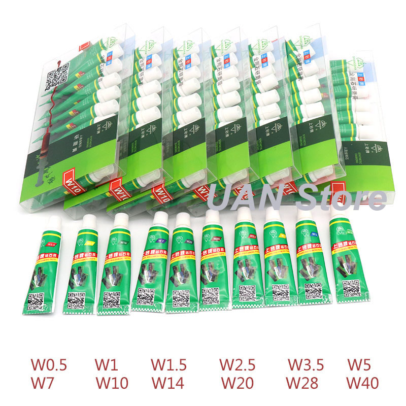 1PCS W0.5~W40 Diamond Abrasive Paste Needle Tube Grinding Polishing Paste Lapping Compound