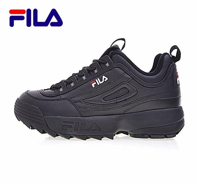 2019 FILAS Disruptor II 2 Outdoor Men Women Sneakers Running Shoes White Summer Women Boots Triple-S Walking Shoes Size 36-44