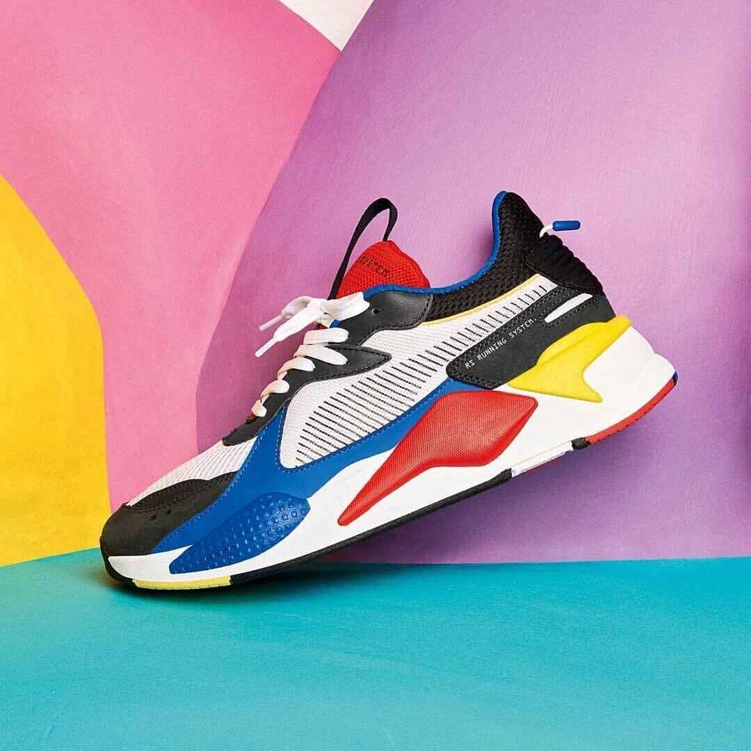 d090fbafb27 ... 2019 New Arrival Puma x TRANSFORMERS RS-X Unisex Shoes Pro Running  Shoes Mesh Lace ...