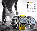F69 Watch Swim Waterproof Sport Smart Watch Heart Rate Monitor Sleep Monitor Pedometer Vibration Smartwatch for IOS Android OS