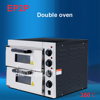 EP2P Electric Oven For Pizza 16 Inch Timer For Commercial Use To Make Bread Cake Pizza