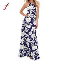 Women Dress Summer 2017 Dress Boho Female Vestidos Mujer Dresses Long Dresses Maxi Evening Sleeveless Beach