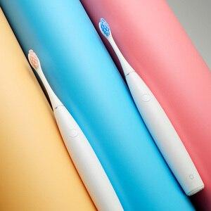 Image 4 - Oclin 2020 جديد الأصلي SE قابلة للشحن فرشاة أسنان كهربائية بالموجات الصوتية APP التحكم الذكي العناية بالأسنان فرشاة أسنان للكبار