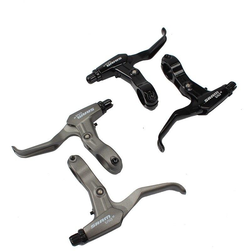 1 Pair Aluminum Alloy MTB Bike Disc Brake Levers Bike Brake Handle Cranks