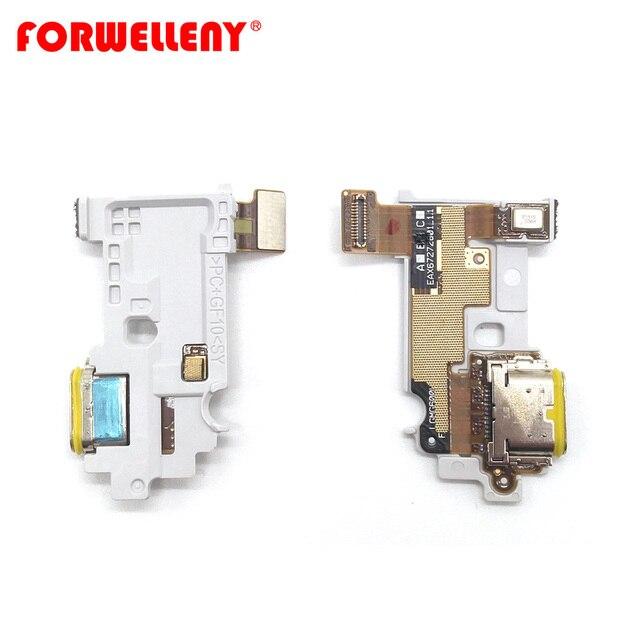 Dành Cho LG G6 Loại Hợp Cổng Sạc Dock Có Micro Đáy Ban Cáp Mềm G600 H870 H871 H872 LS993 VS998 US997 H873