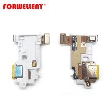ل LG G6 نوع C شحن منفذ شاحن قفص الاتهام مع ميكروفون أسفل المجلس فليكس كابل G600 H870 H871 H872 LS993 VS998 US997 H873