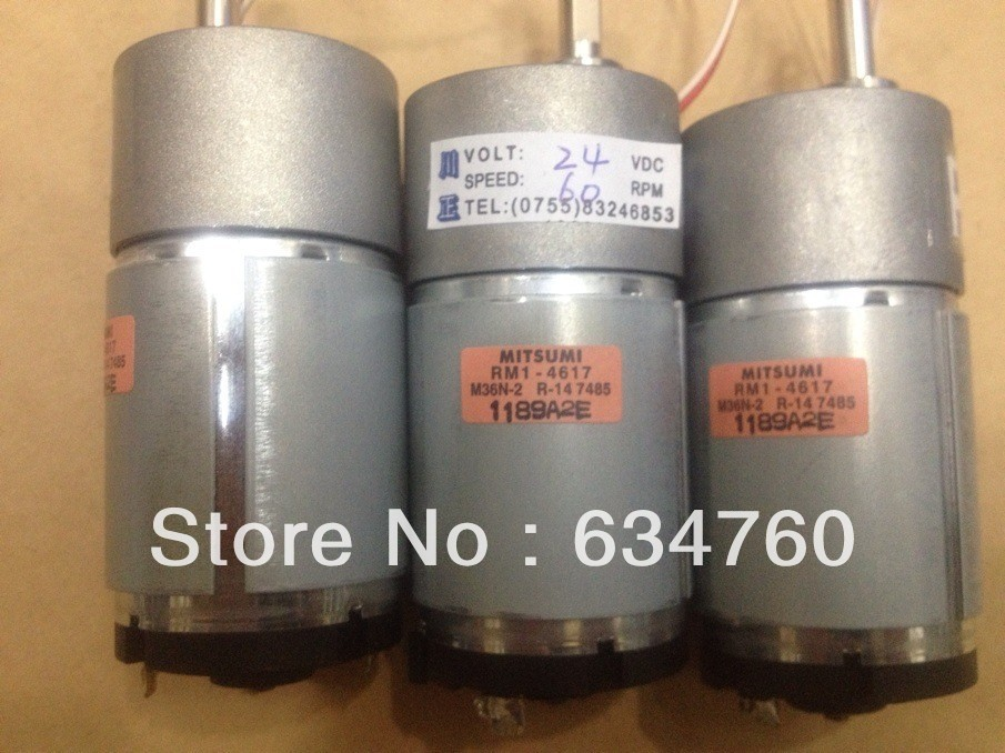Physical store sales spot supply DC 24V 37GB545 gear motor
