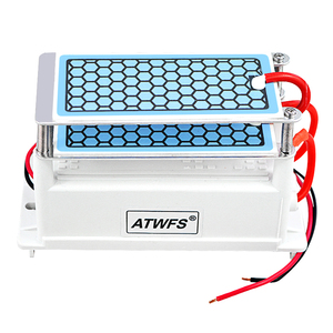 Image 2 - ATWFS Air Purifier 220V 10g/5g Ozone Generator Portable Double Integrated Long Life Ceramic Plate Ozonator Air Cleaner Ozonizer