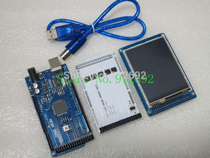 Free shipping quot tft lcd touch inch shield