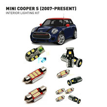 Led interior lights For mini cooper s 2007+   15pc Led Lights For Cars lighting kit automotive bulbs Canbus цена