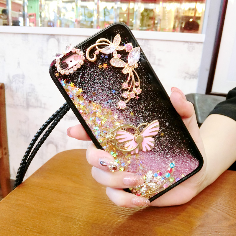 Cellphones & Telecommunications Diyabei For Huawei Honor 5a 8 G9 Plus 6x P10 Lite P10 Plus Dynamic Liquid Glitter Sand Quicksand Star Soft Case Back Cover Half-wrapped Case