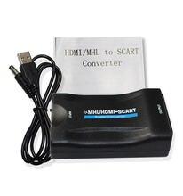 Преобразователь hdmi в scart hd 1080p Видео Аудио высококлассный