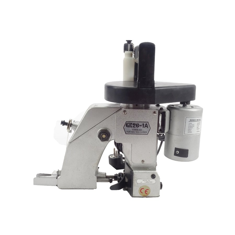 1PC Portable Electric Sewing Machine Automatic Oiling Woven Bag Packing Machine GK26-1A For Woven bag/Snakeskin bag/Sack  1pc gk9 018 automatic tangent tool single needle thread chain stitch portable bag woven sewing machine