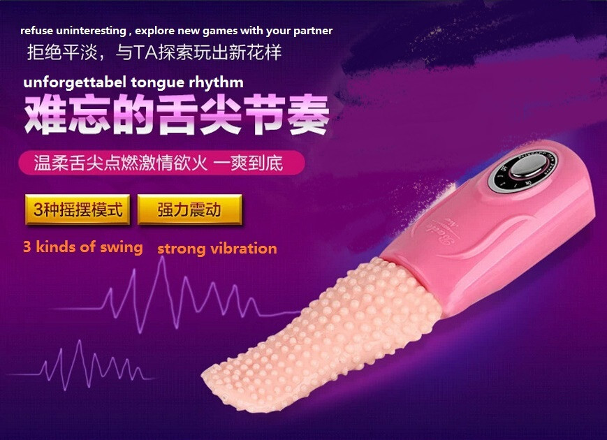 Tongue Vibrator Lidah sextoys wanita
