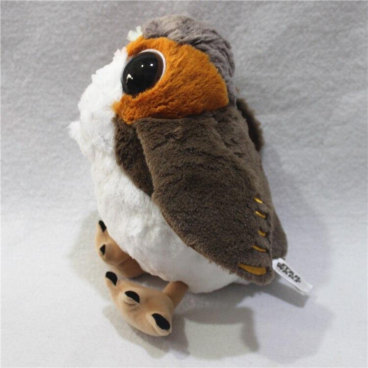 Movies e tv novidade porg brinquedos pássaro de Preenchimento : Algodão de Polipropileno