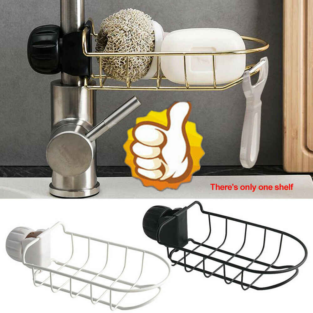 Hot Sells Tap Hanging Storage Holder Rack Home Kitchen Faucet Sink Sponge Portable