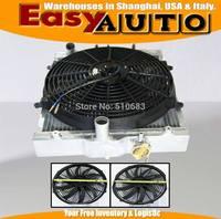 Racing radiador fit para honda civic 88-00 + slim 14