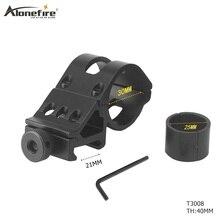 AloneFire 30 мм прицел кольцо высокий профиль подходит 21 мм Пикатинни Вивер рейку фонарик крепления принадлежности для охоты