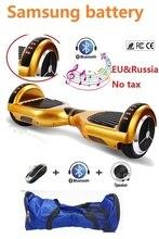 """6.5 """"Samo balansowanie skuter elektryczny skuter z Diodami oxboard hoverboard bluetooth inteligentny bilans skuter koła deskorolka"""