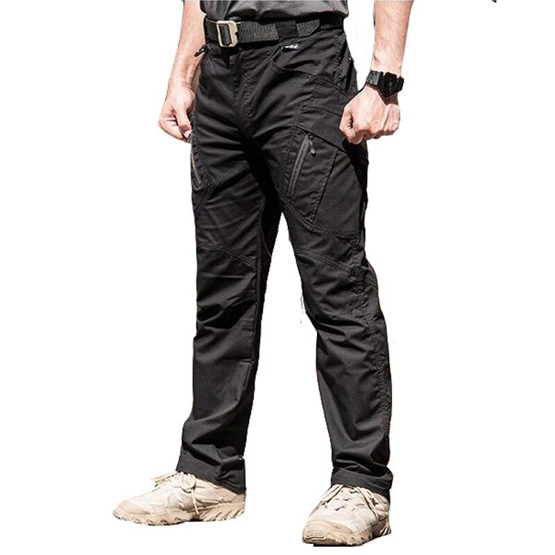 2019 automne hiver hommes cargo pantalon militaire tactique homme pantalon Camouflage pantalon hommes silm décontracté grande taille armée Active pantalon