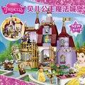 Белль Заколдованный Замок Игрушки КРАСАВИЦА И ЧУДОВИЩЕ Совместимость Legoes 41067 Девушки Xmas Подарков