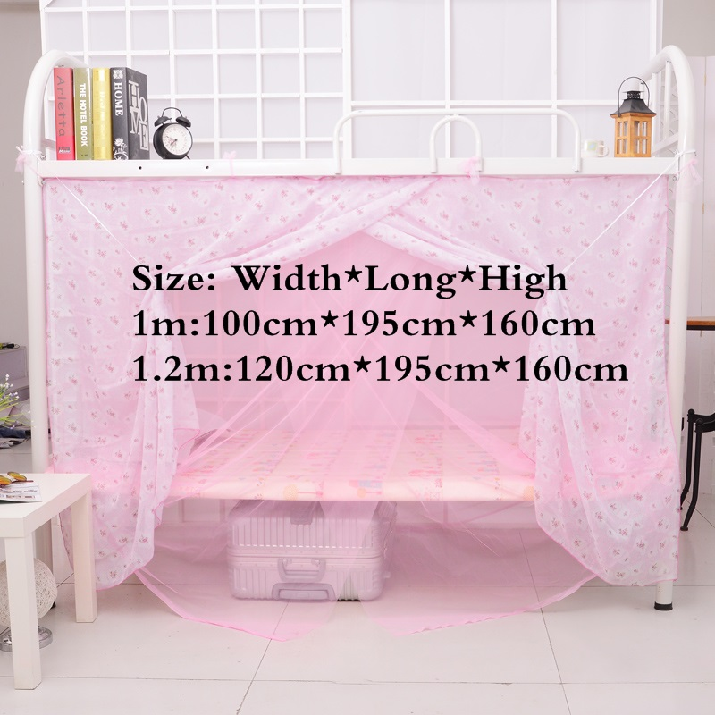 Double-layer Mosquito Net Bug Insect Repeller Box Shape Travel Camping Home High Quqlity Bed Curtain Bed Net for girl student