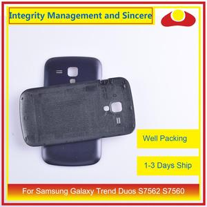 Image 3 - 10Pcs/lot For Samsung Galaxy Trend Duos S7562 7562 S7560 7560 Housing Battery Door Rear Back Cover Case Chassis Shell