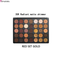 NEW Hot Selling 35 Color Eye Shadow Palette Brand Makeup Face Beauty 35R Eye Palette