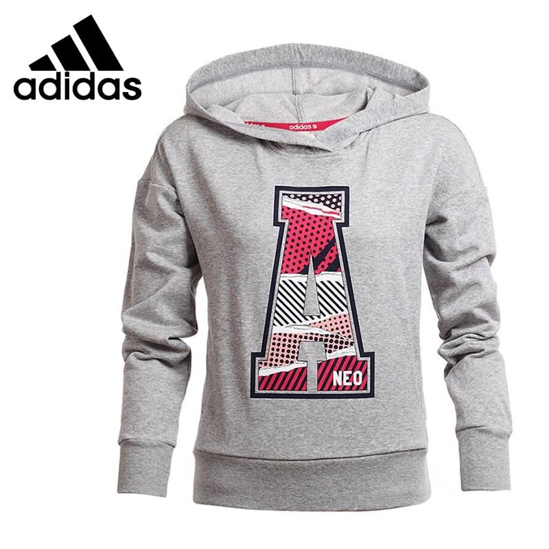 b7642bc8 Оригинальные Adidas NEO Этикетки женские Пуловеры Толстовки Спортивной  бесплатная доставка купить на