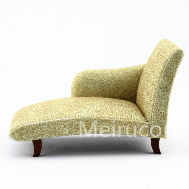 Beau Dollhouse 1/12 Scale Miniature Furniture Elegant Fabric Sofa Bed