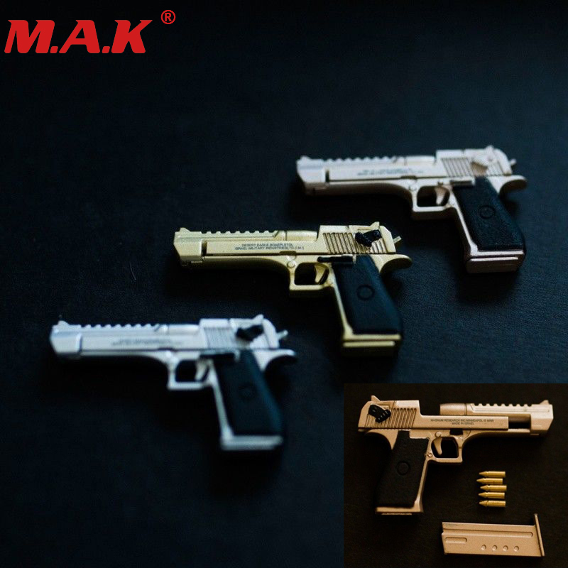 soldier weapon model 1/6 scale 4D assembling desert eagle alloy pistol toy handgun for 12 action figure hot gifts image