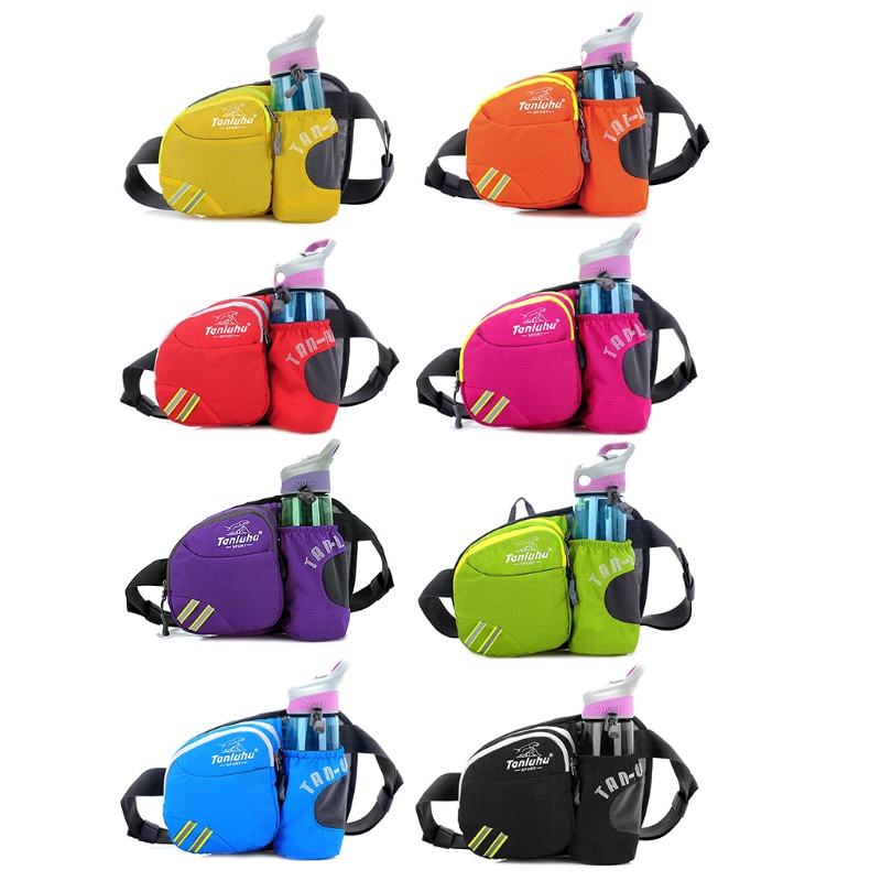 Sport Water Bottle Holder Belt Bag For Running Cycling Jogging Waist Pack Pouch