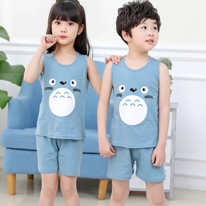 2019 boys garments summer season toddler boys garments child women clothes set Cotton T shirt + shorts youngsters clothes Youngsters Tracksuits Clothes Units, Low-cost Clothes Units, 2019 boys garments...